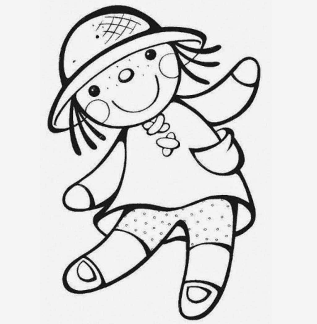 1025x1050 Doll Pictures Drawing Colour Drawing Free Wallpaper Doll