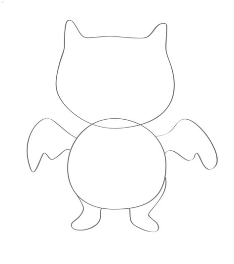 474x536 How To Draw Ugly Dolls 12 Steps (With Pictures)