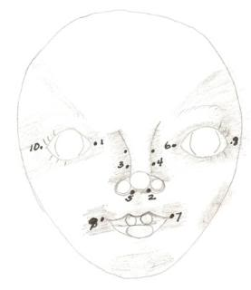 Dolls Faces Drawing at GetDrawings.com | Free for personal ...