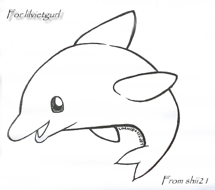 Dolphin Drawing At Getdrawings Com Free For Personal Use Dolphin