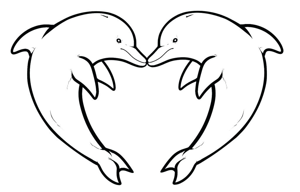 1024x655 Best Dolphin Coloring Pages 80 For Ew Year Color Pages
