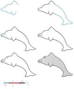 236x286 Dolphins Animal Drawingspictures Drawing Pictures
