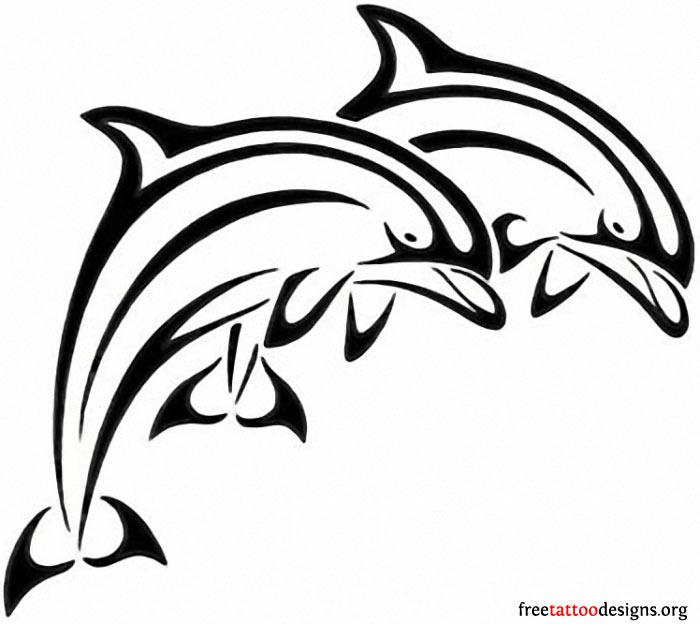 700x630 Juming Dolphins Tattoo Design Cool Tattoos