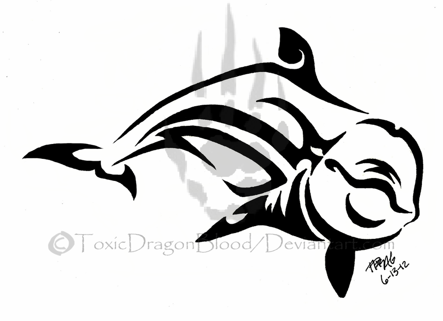 900x653 Playful Dolphin Tattoo By Toxicdragonblood