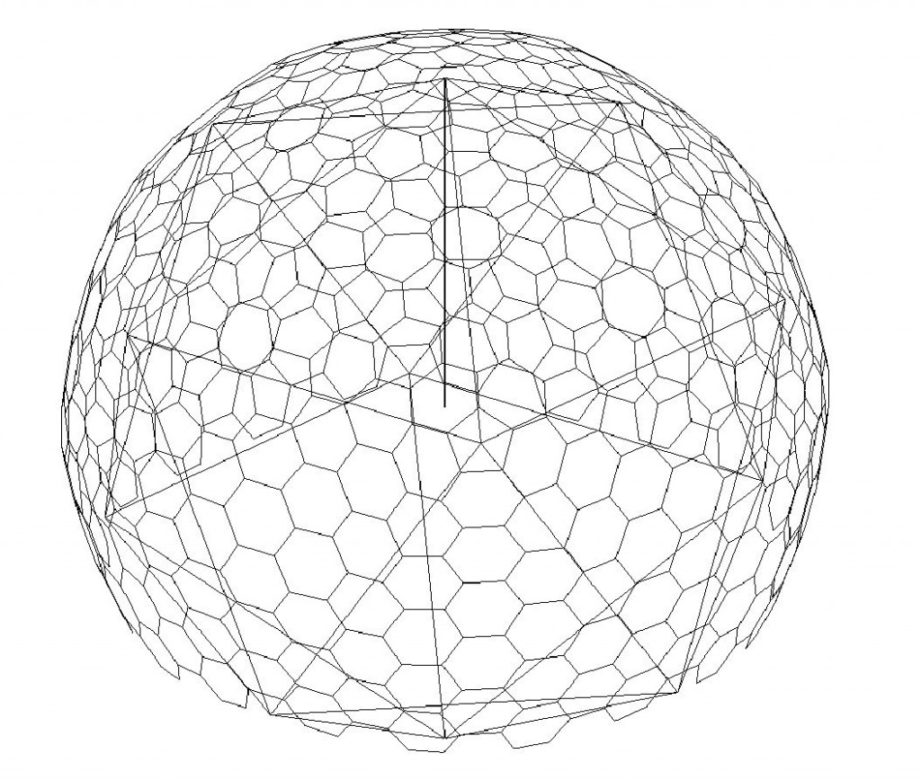 1024x868 Making A Pseudo Geodesic Dome In Revit What Revit Wants