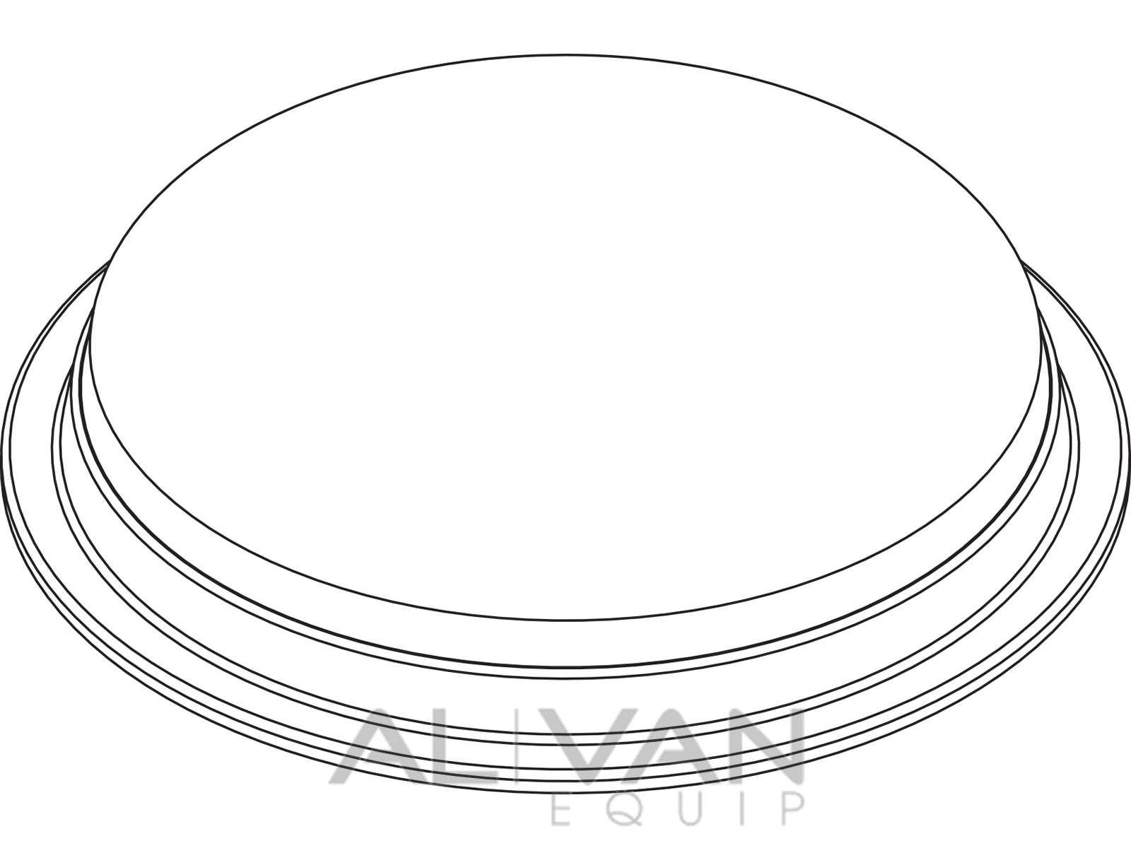 1600x1200 Van Dome Light 6092 Line Drawing Al Van Equip