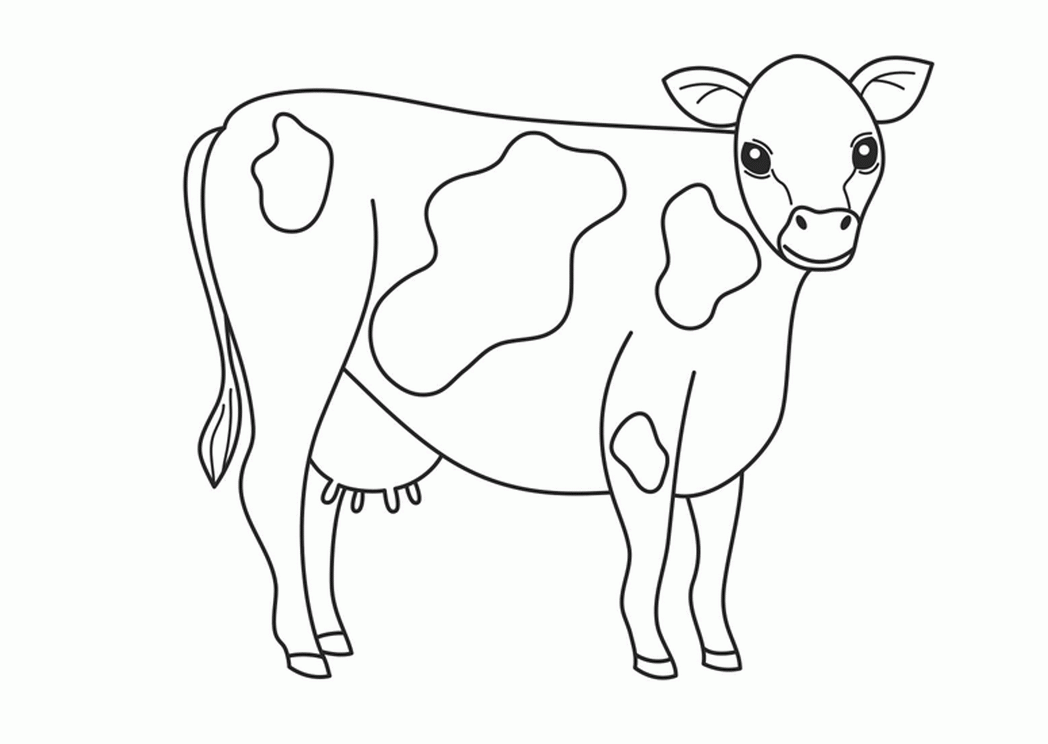 1048x744 new farm animal coloring pages artsybarksy