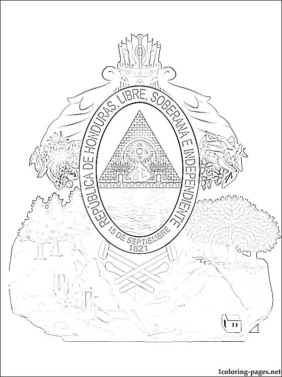 dominican republic flag coloring pages - photo#30