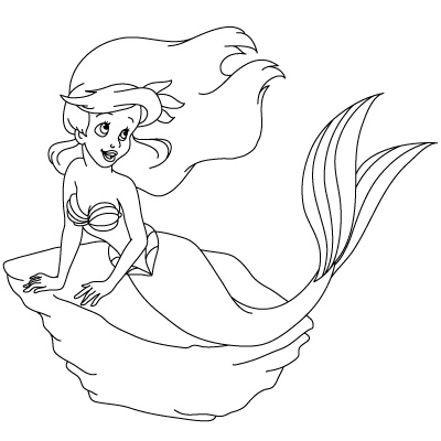 400x400 How To Draw The Little Mermaid, Mickey Mouse, Minnie Mouse, Goody