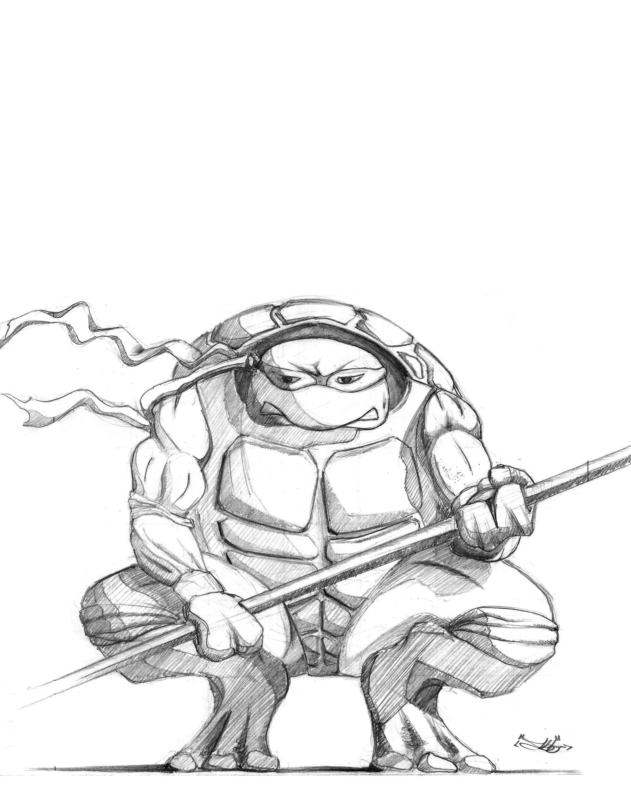 2060x2600 Donatello Coloring Pages