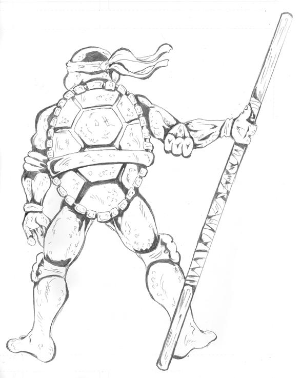 589x737 Donatello Pencils By Shono
