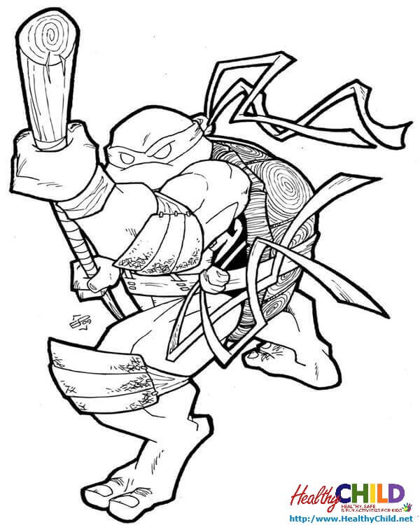 600x750 Tmnt Donatello
