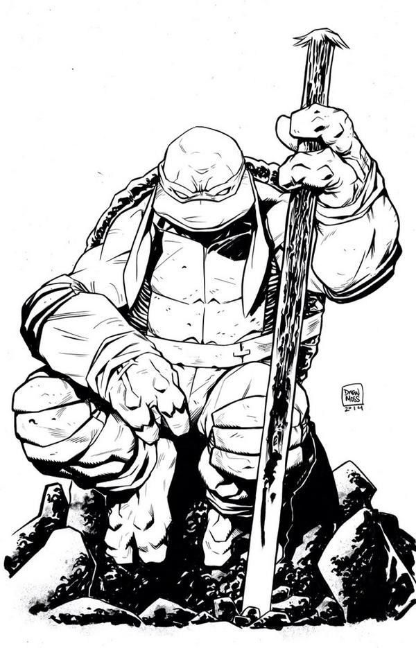 600x935 Teenage Mutant Ninja Turtles