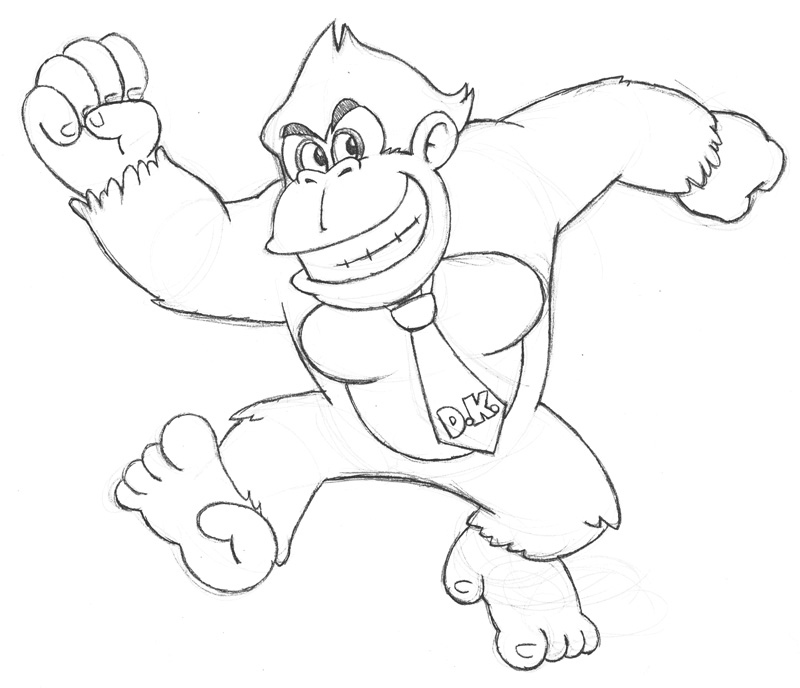 800x688 Donkey Kong Classic By Fryguy64