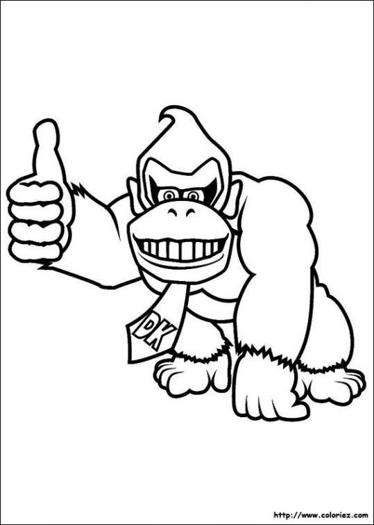 donkey kong drawing at getdrawings com free for personal use