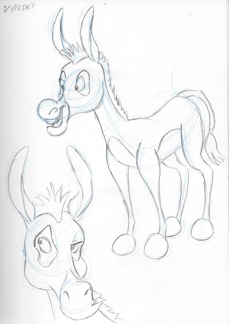 752x1063 Donkey 2 By Darylt
