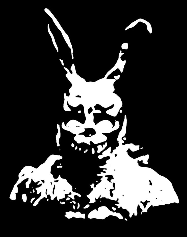Donnie Darko Rabbit Drawing