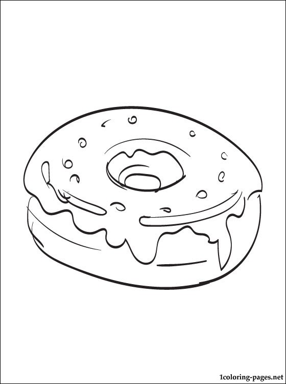 donut line drawing at getdrawings free