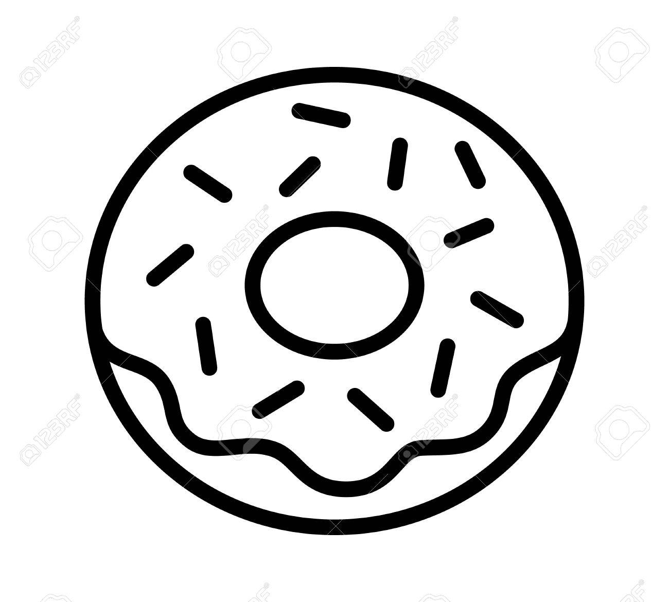 donut line drawing at getdrawings com free for personal use donut rh getdrawings com