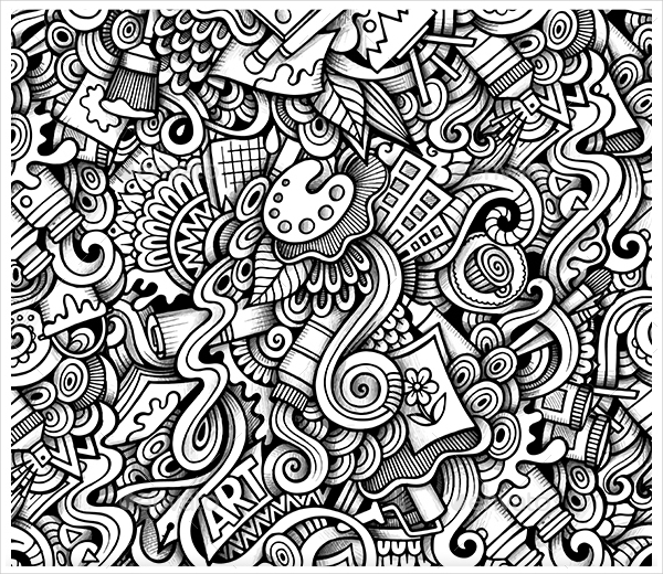 Doodle Art Designs : Doodle art drawing at getdrawings free for personal