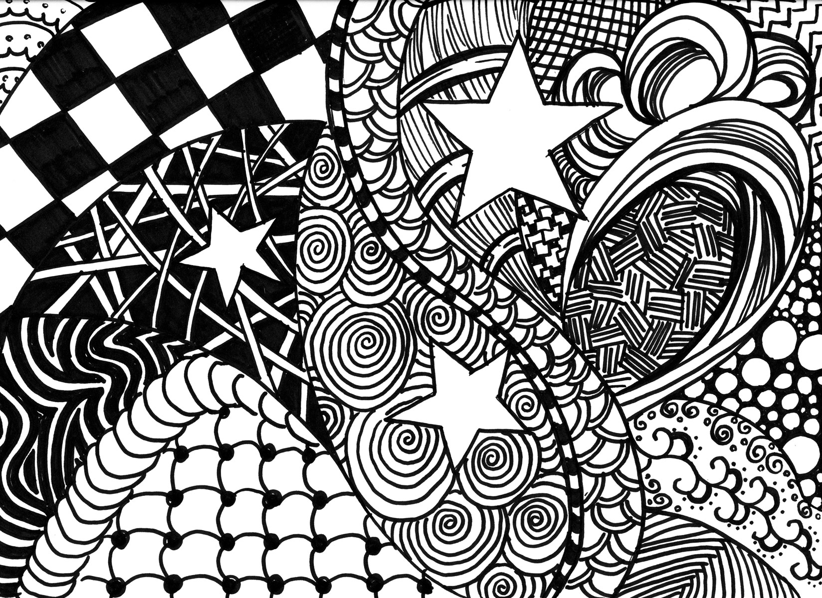 1648x1200 Zentangle Coping With Cancer Through Doodle Art