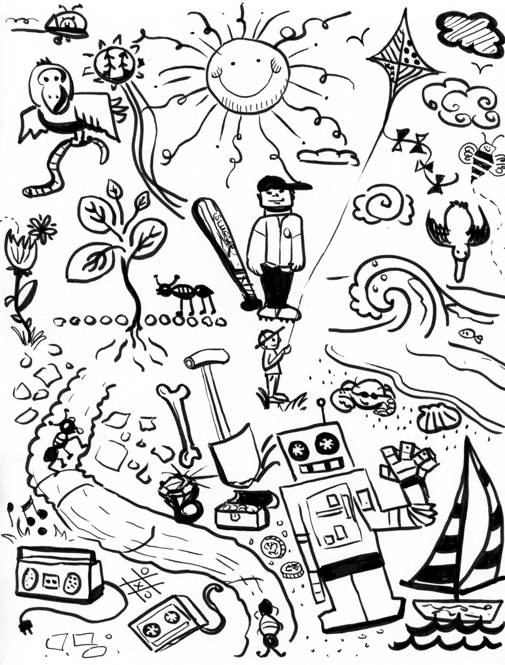 1000x1316 Doodles Erin B Dewalt