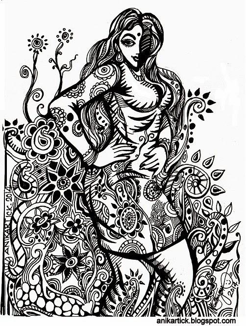 502x664 Ani Doodle Sketch Doodle Drawing Doodle Artwork Doodle Pen