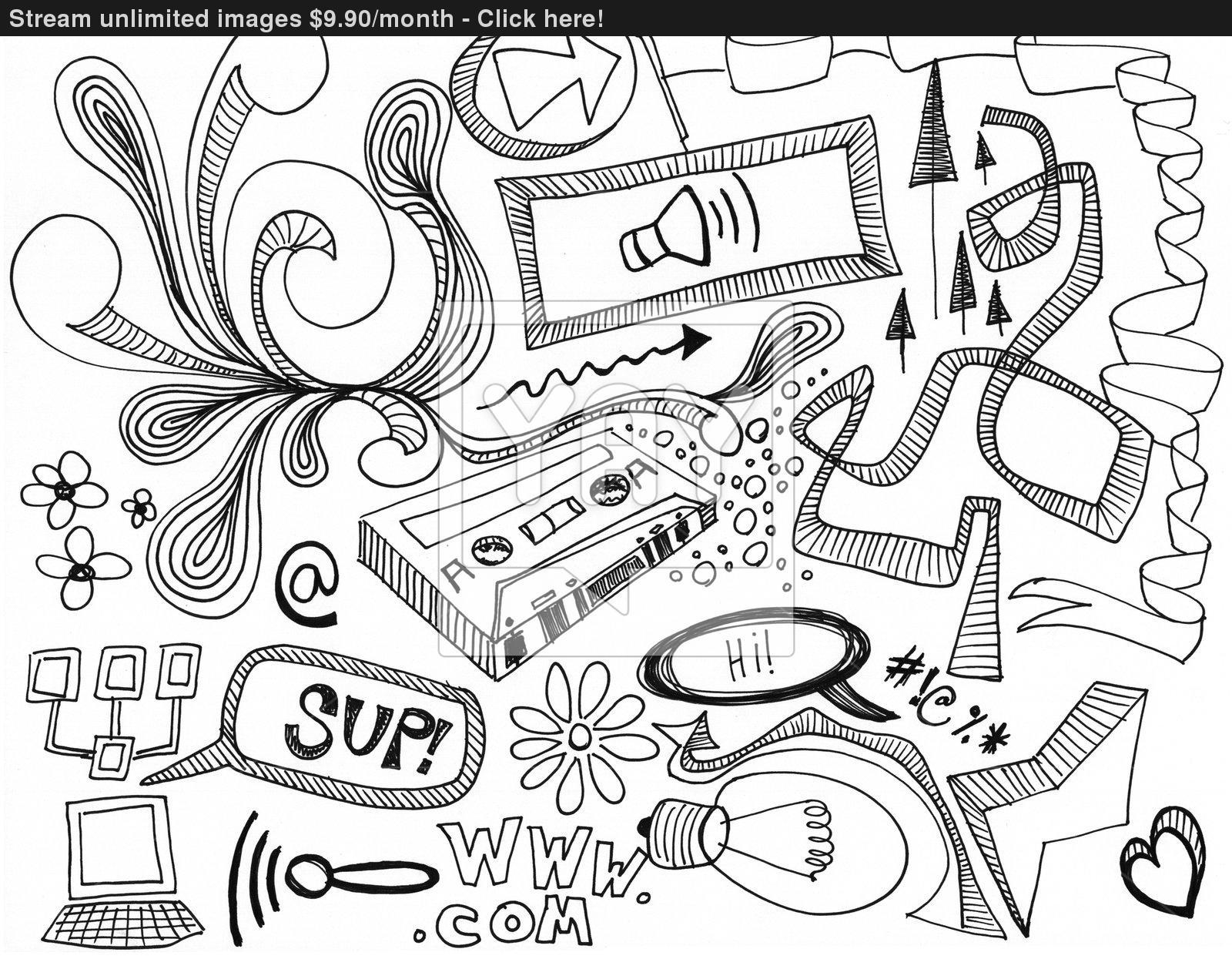 1600x1245 Random Doodles