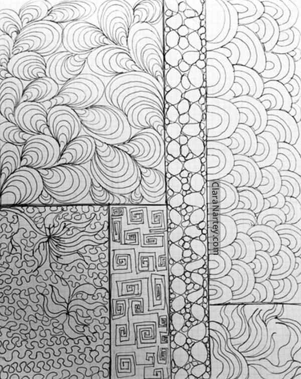 600x755 Doodling Is Childish Think Again!! Clara Nartey Textile Artist