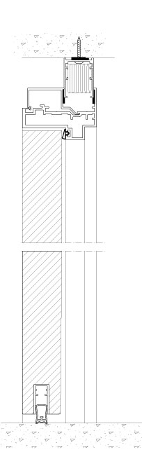 204x675 Drawings Tp Acoustic Sound Rated Glass Wall