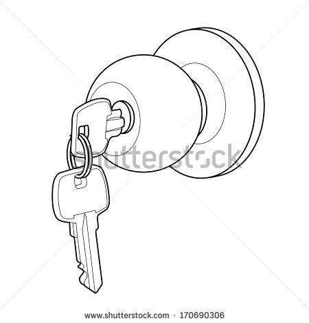 450x470 Door A Review On The New Future With Enchanting Door Knob Sketch