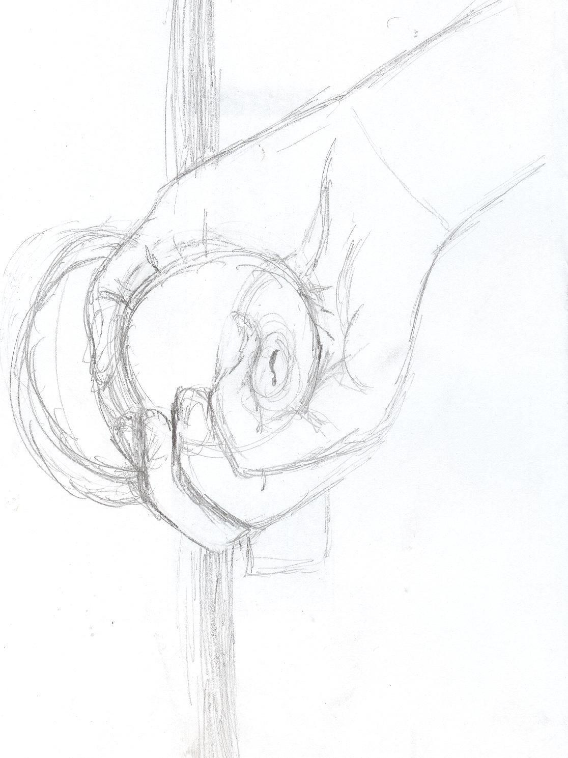 1116x1489 Hand Doorknob By Cutetamara292