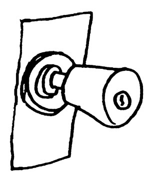300x383 Azadeh Pourzand I Am A Doorknob.