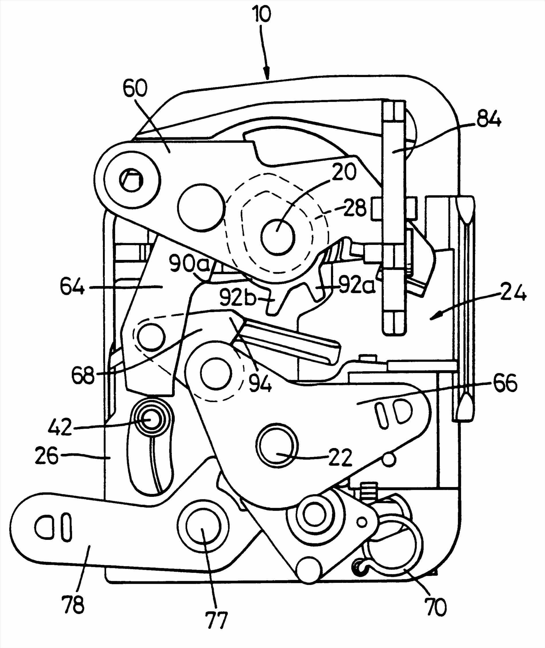 1900x2259 Assembly Google Patents Porsche Boxster Lock Mechanism Handle