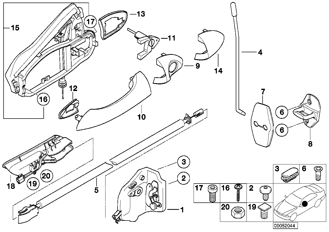 Door Lock Drawing At Free For Personal Use Bmw Central Locking Wiring Diagram 1288x910 Download Front Assembly
