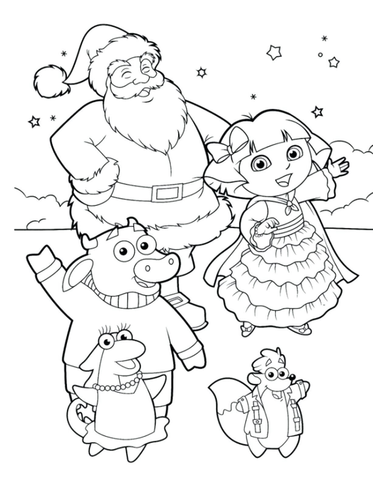 1227x1583 Coloring Dora Coloring Sheet The Explorer Pages For Kids Free