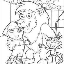 220x220 Dora Coloring Pages, Drawing For Kids, Videos For Kids, Reading