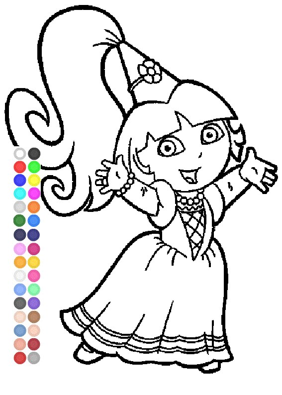 Dora Drawing Games at GetDrawings.com | Free for personal use Dora ...