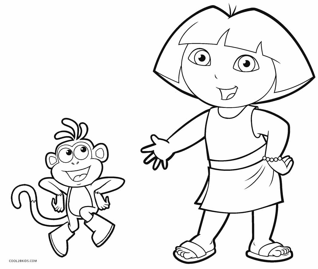 Dora Drawing Pictures_ at GetDrawings.com | Free for ...