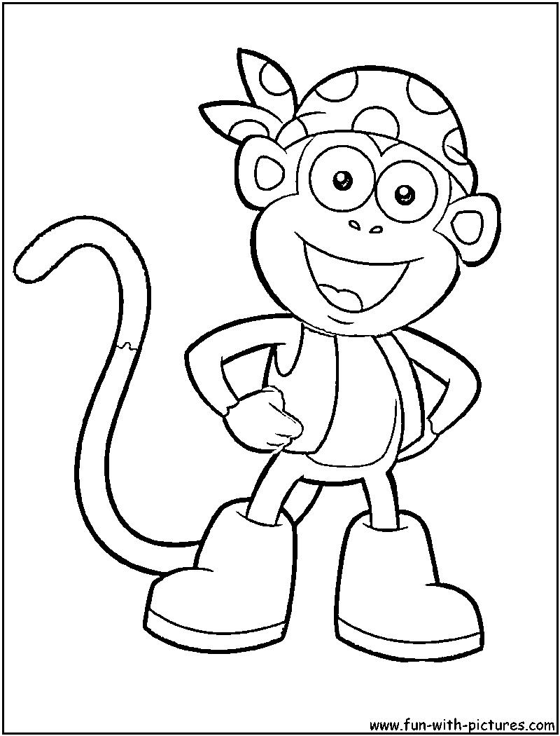 800x1050 Dora The Explorer Drawings 47 Dora The Explorer Coloring Pages