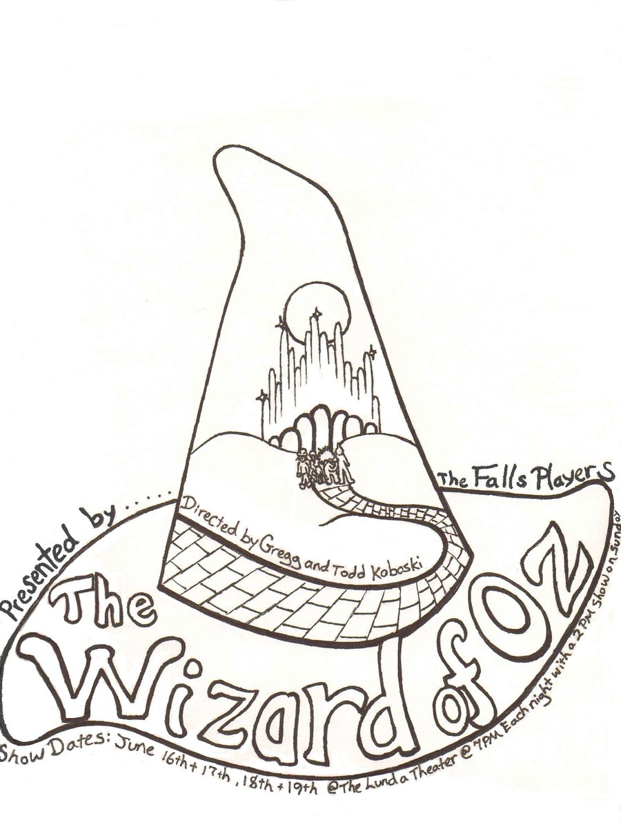900x1211 Wizard Of Oz Drawings Wizard Of Oz Drawing