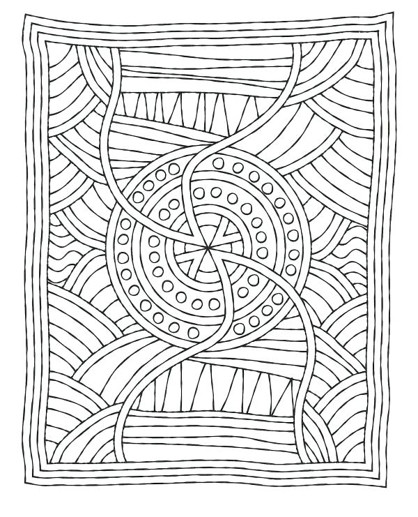 600x741 Dot Art Coloring Pages Mosaic Coloring Page Download Print Online