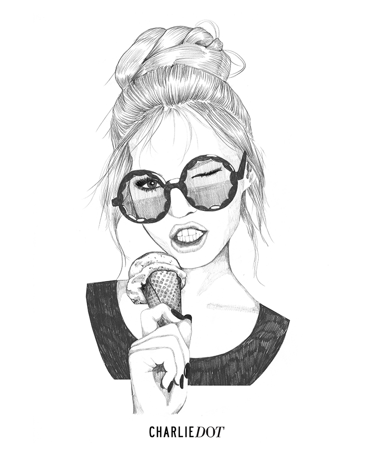750x900 Qampa With Illustrator Charlie Dot Fashion Sketches, Illustrators