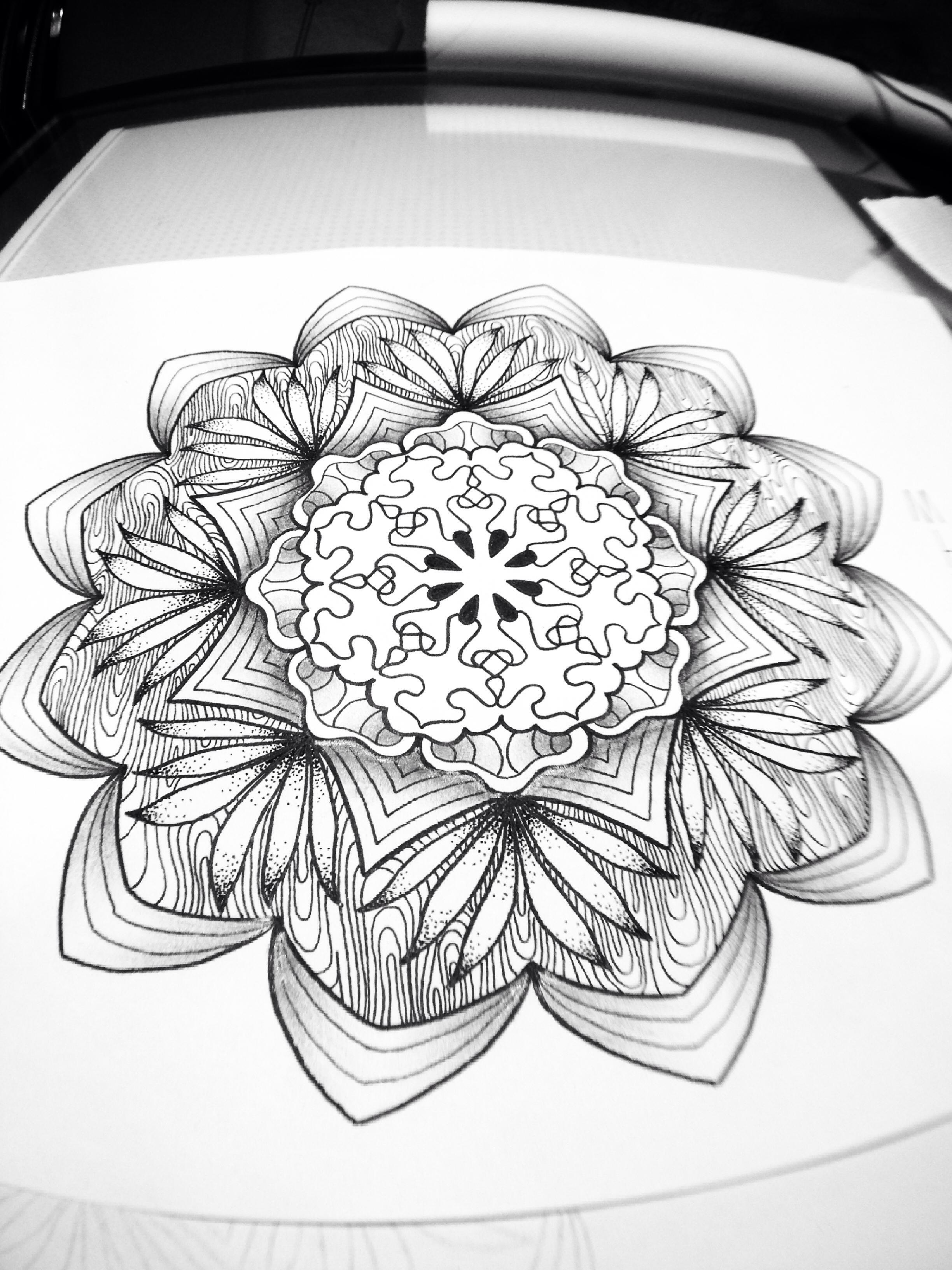 2448x3264 Art, Line Work, Dot Work Art Tattoos Paint Photo