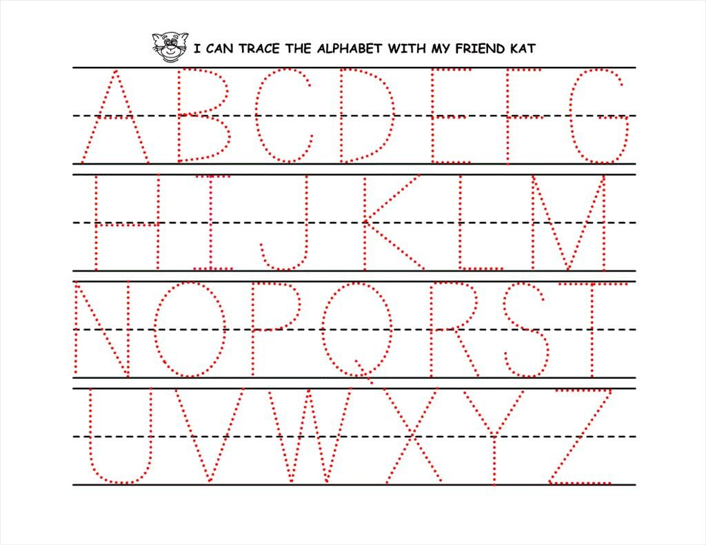 Dot To Dot Alphabet At GetDrawings.com
