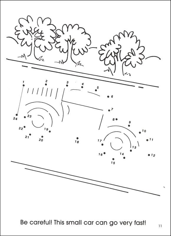 580x800 Cars And Trucks Dot To Dot Activity Book (046519) Details