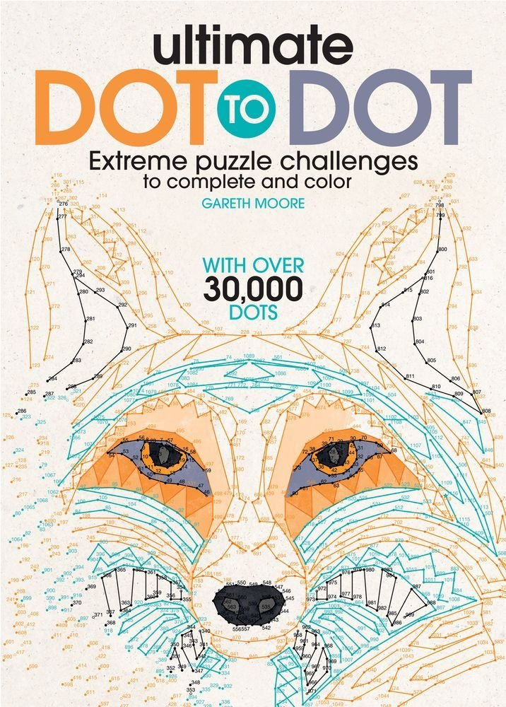 716x1000 Ultimate Dot to Dot Extreme Puzzle Challenge