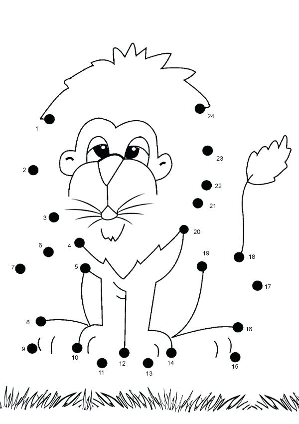 600x850 Dot Dot Coloring Pages Coloring Pages For Kids Extreme Dot