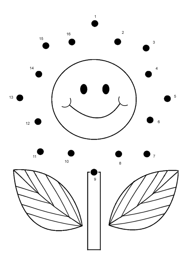Dot To Dot For Kids At Getdrawings Free For Personal Use Dot