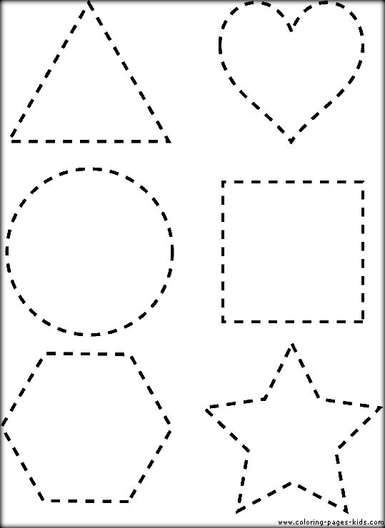 539x740 Dot To Dot Shapes Printable Sheets To Color